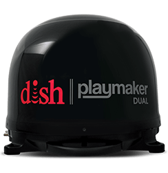 DISH Playmaker Dual - Outdoor TV - Pineville, Louisiana - Universal Satellite Sales And Service - DISH Authorized Retailer